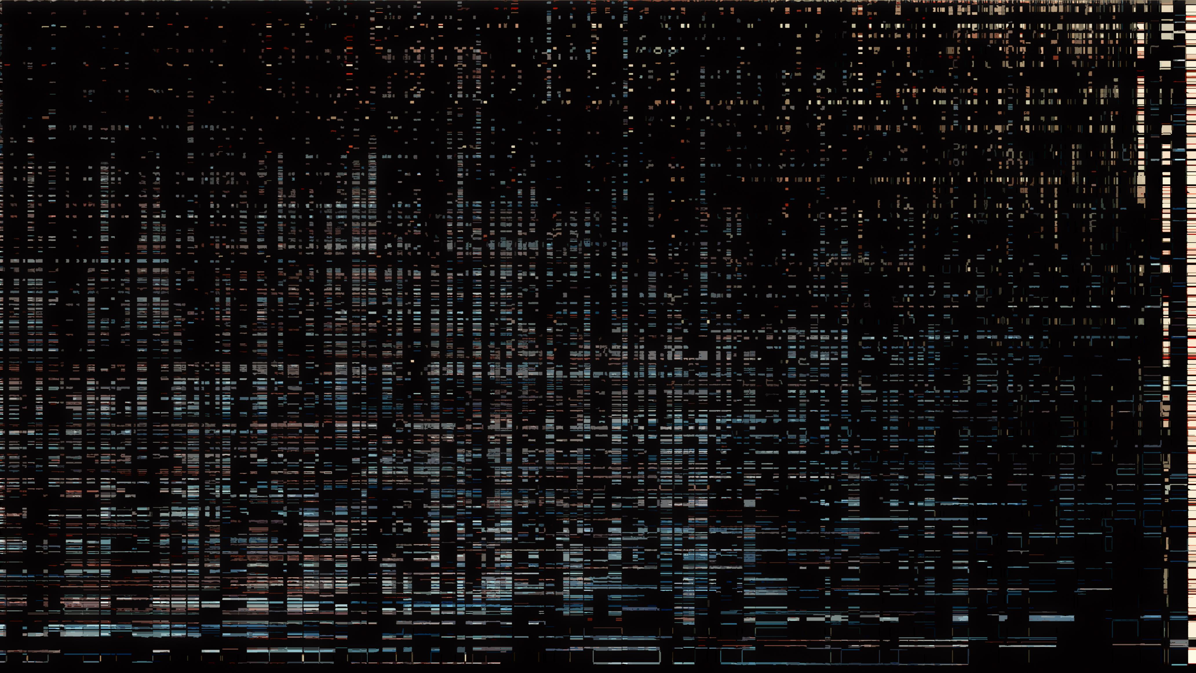 73135 Hintergrundbild herunterladen Abstrakt, Dunkel, Textur, Verzerrung, Panne, Glitch, Interferenz, Störungen - Bildschirmschoner und Bilder kostenlos