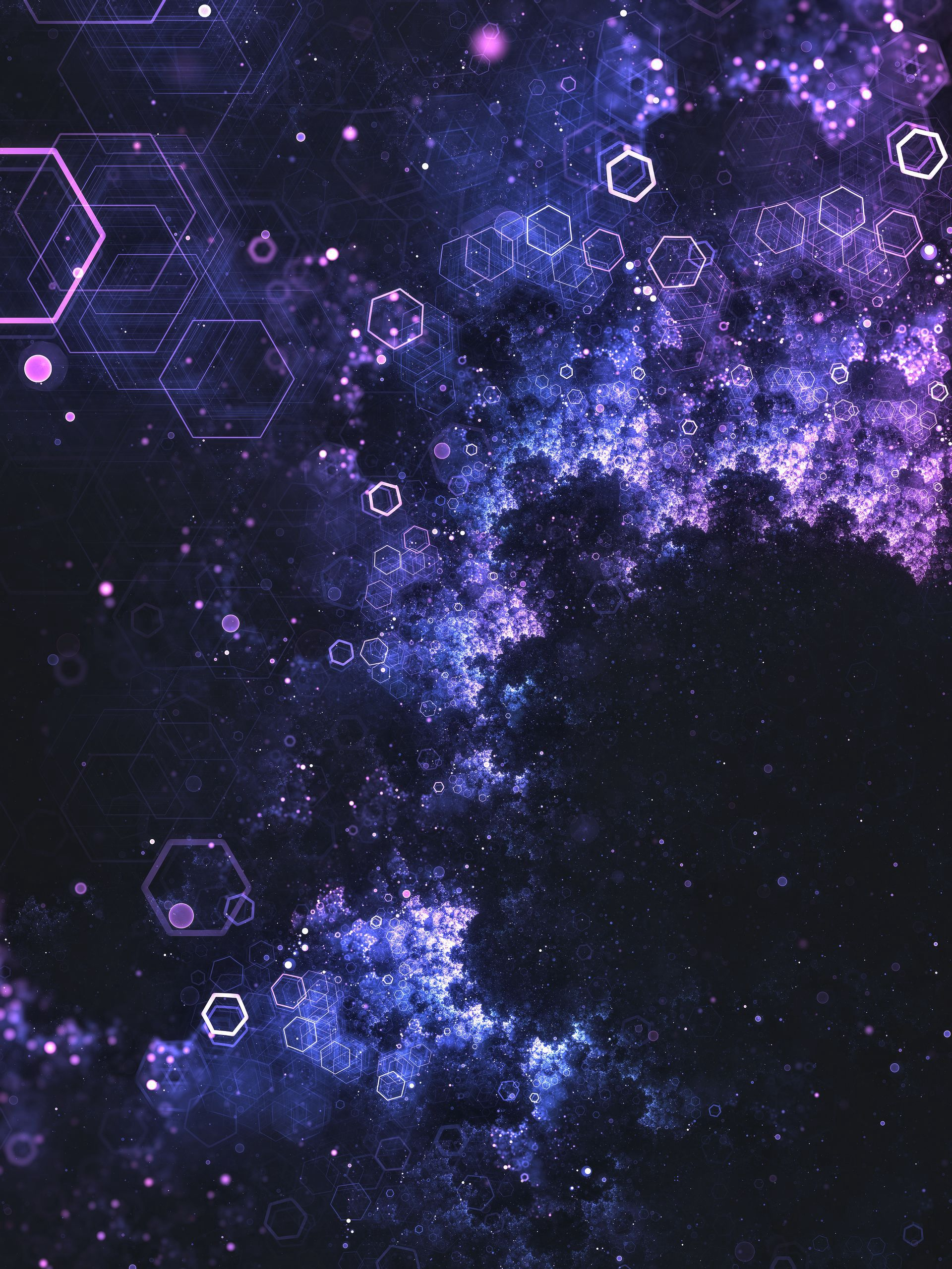 53927 Screensavers and Wallpapers Glow for phone. Download Abstract, Glow, Particles, Hexagons, Honeycomb pictures for free