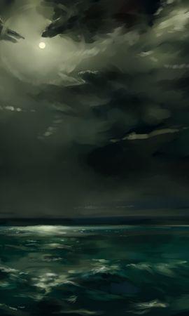 37135 скачать обои Пейзаж, Море, Рисунки - заставки и картинки бесплатно
