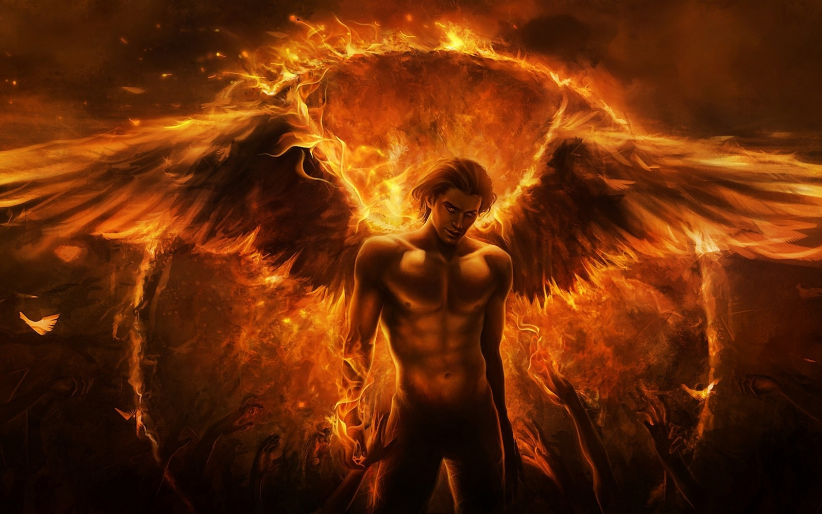 32503 Screensavers and Wallpapers Demons for phone. Download Demons, Fantasy, Men pictures for free