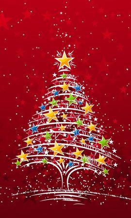 2247 télécharger le fond d'écran Fêtes, Nouvelle Année, Sapins, Noël, Dessins - économiseurs d'écran et images gratuitement