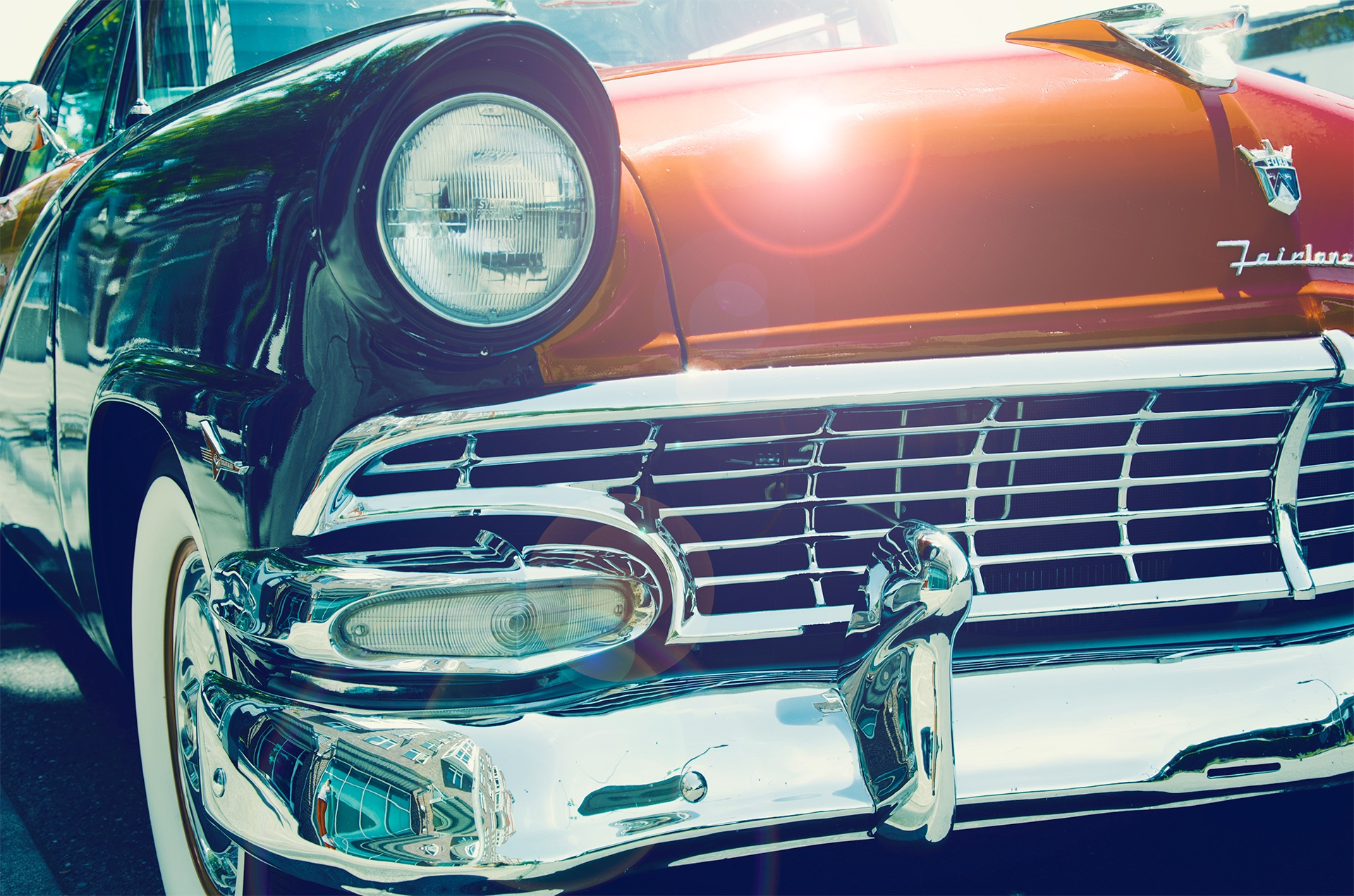 128252 download wallpaper Cars, Auto, Vintage, Before, Headlight screensavers and pictures for free