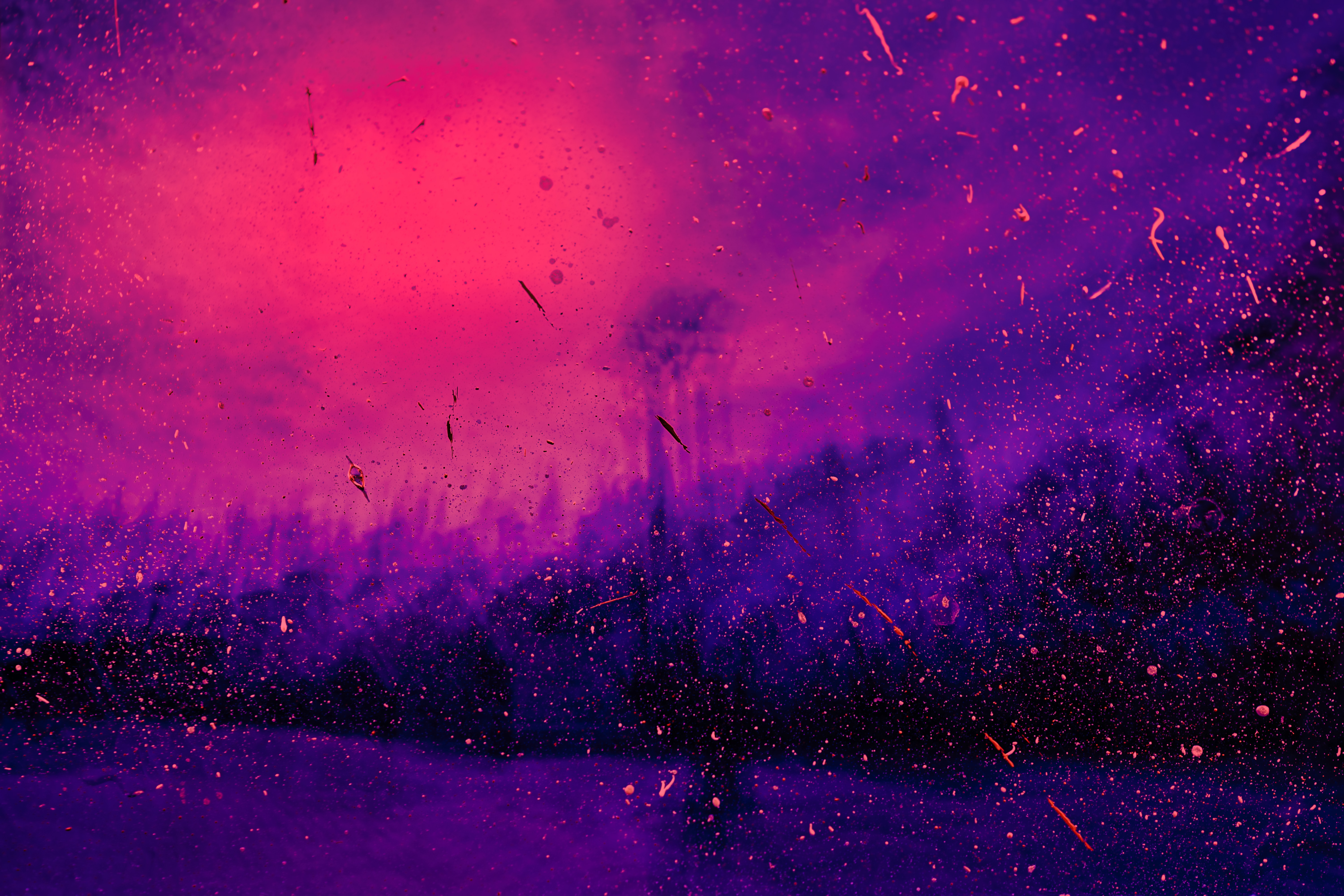97635 Screensavers and Wallpapers Lilac for phone. Download Abstract, Lilac, Violet, Spray, Stains, Spots, Points, Point, Purple pictures for free