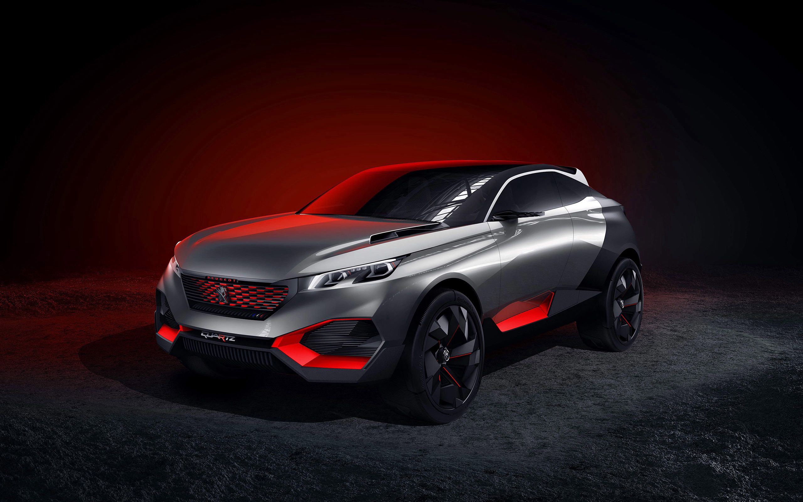100948 скачать обои Пежо (Peugeot), Тачки (Cars), Концепт, Quartz - заставки и картинки бесплатно