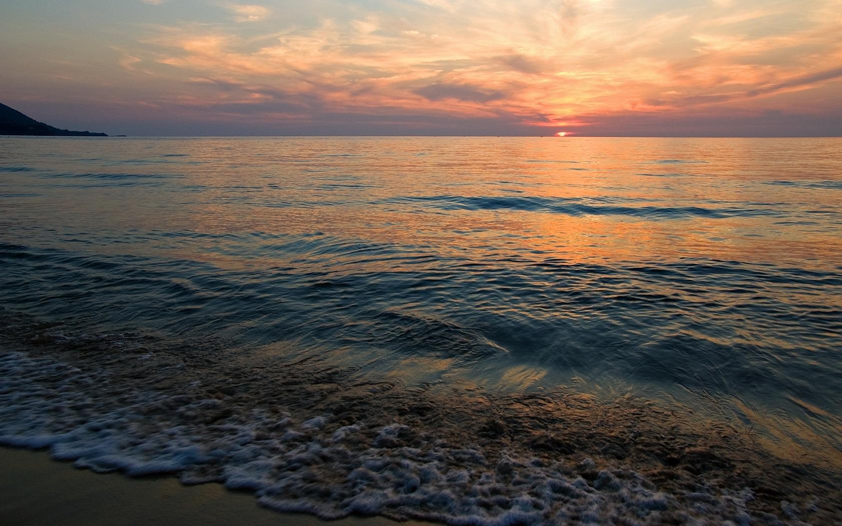 6117 скачать обои Пейзаж, Закат, Небо, Море - заставки и картинки бесплатно