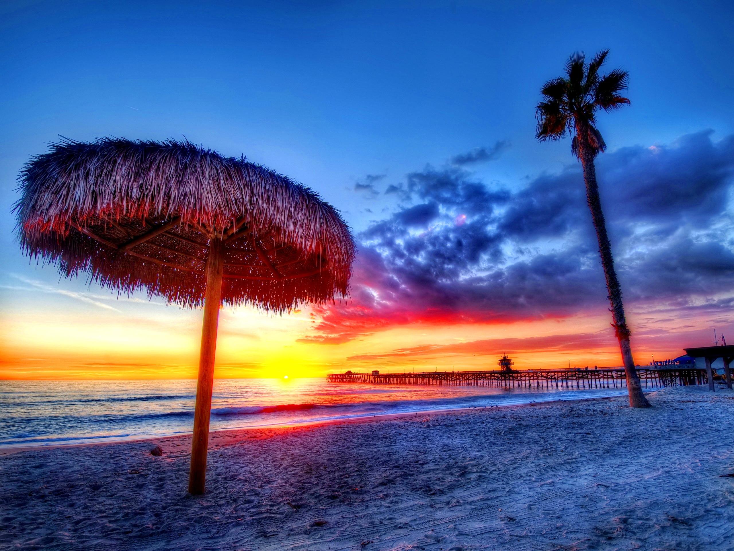 112607 Заставки и Обои Песок на телефон. Скачать Закат, Природа, Пляж, Тропики, Море, Песок, Пальмы, Красиво картинки бесплатно