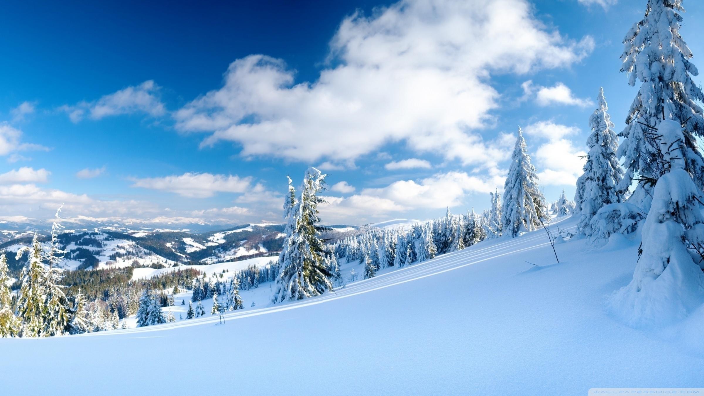 17779 скачать обои Пейзаж, Зима, Небо, Горы, Облака, Снег - заставки и картинки бесплатно