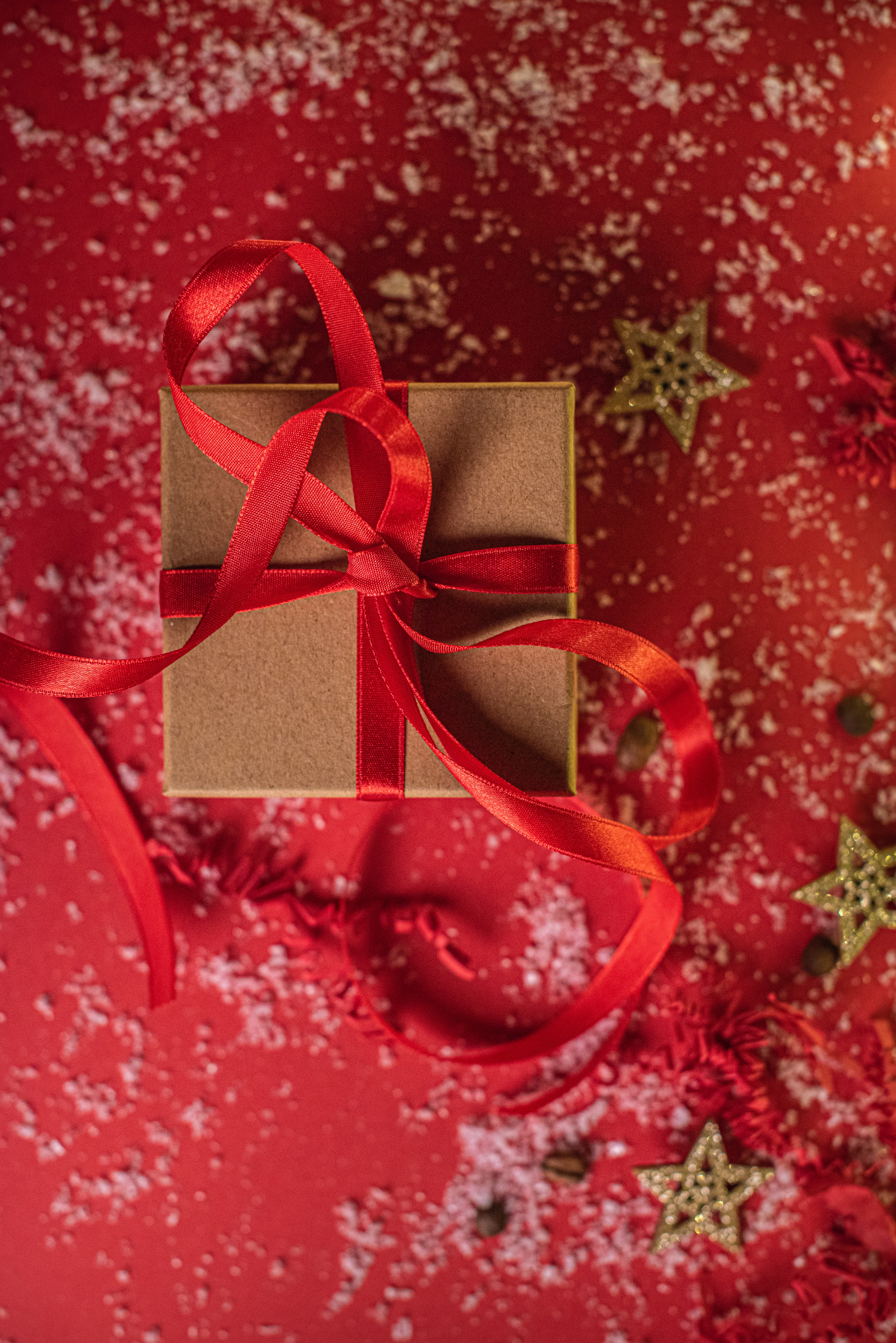 115680 download wallpaper Holidays, Box, Tape, Present, Gift, New Year, Christmas screensavers and pictures for free