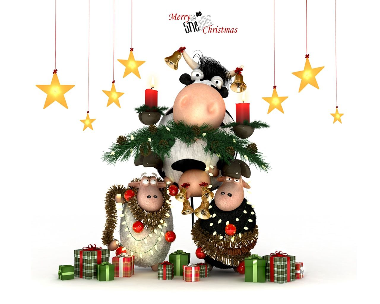 133773 Screensavers and Wallpapers Sheep for phone. Download Holidays, New Year, Christmas, Sheep, Cow pictures for free