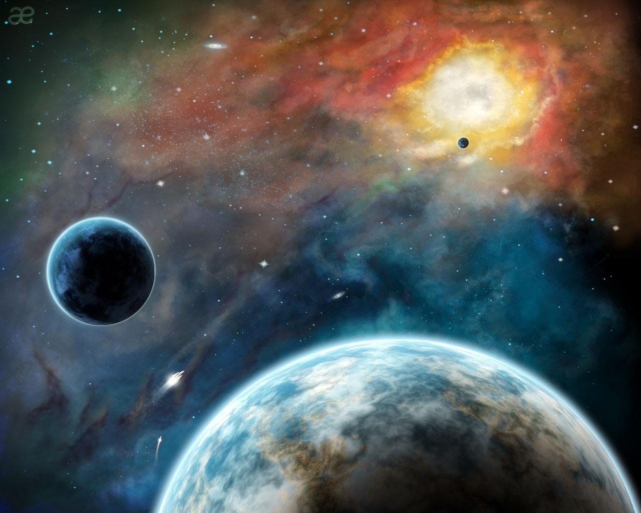 5346 скачать обои Пейзаж, Планеты, Космос - заставки и картинки бесплатно