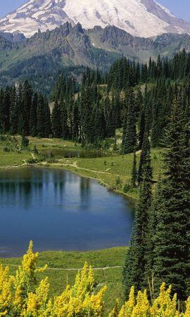 30302 скачать обои Пейзаж, Горы, Озера - заставки и картинки бесплатно