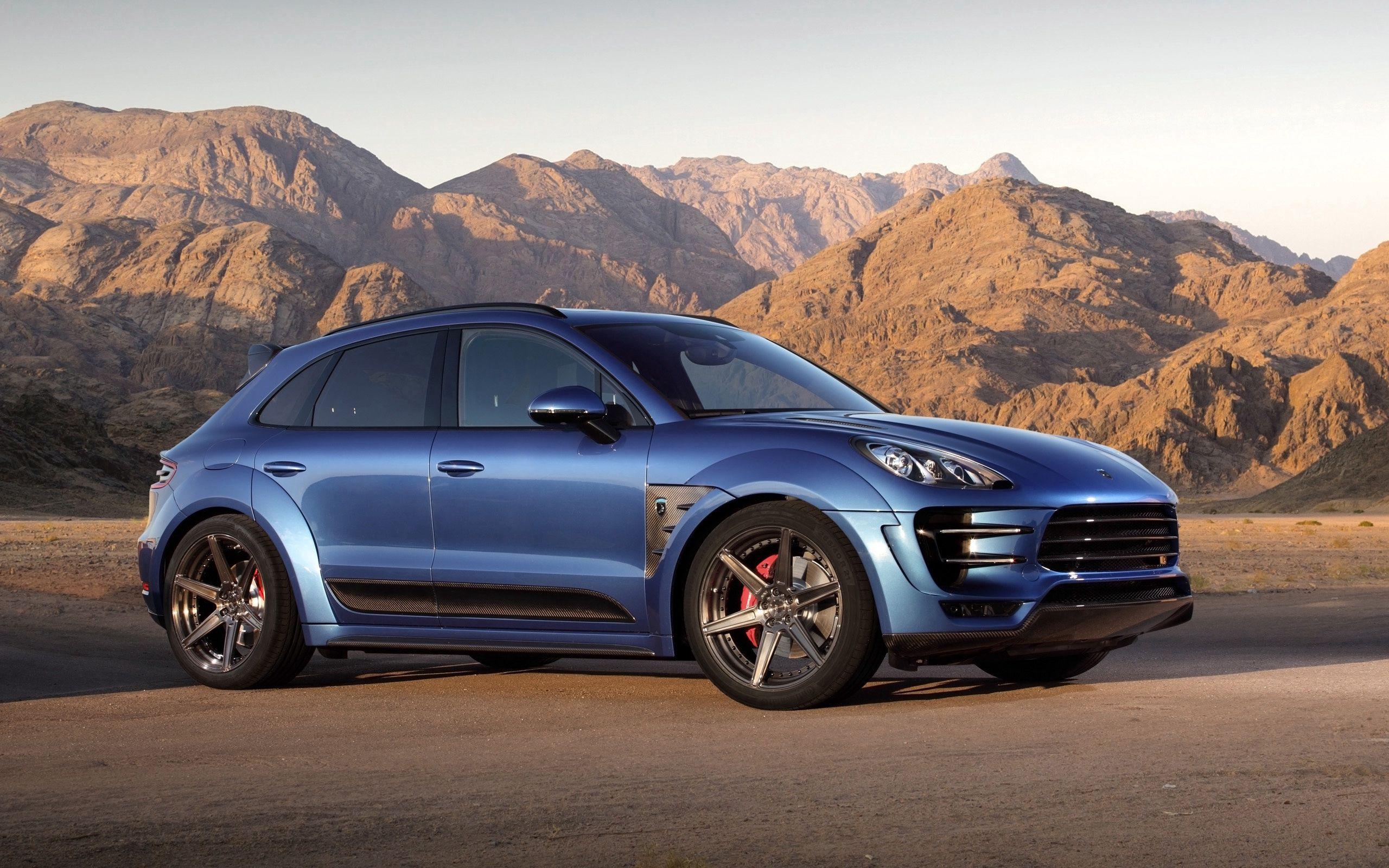 53518 Заставки и Обои Порш (Porsche) на телефон. Скачать Синий, Порш (Porsche), Тачки (Cars), Вид Сбоку, Macan, Ursa картинки бесплатно