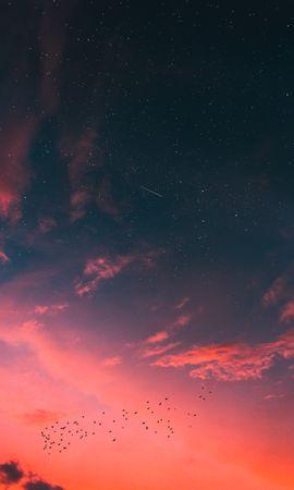 142868 baixar papel de parede Natureza, Céu Estrelado, Nuvens, Pôr Do Sol - protetores de tela e imagens gratuitamente