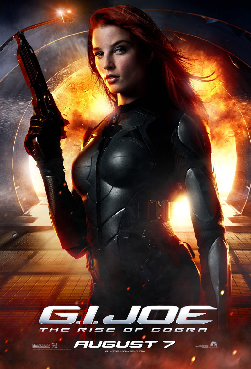 15163 download wallpaper Cinema, People, Girls, Actors, G.i. Joe screensavers and pictures for free