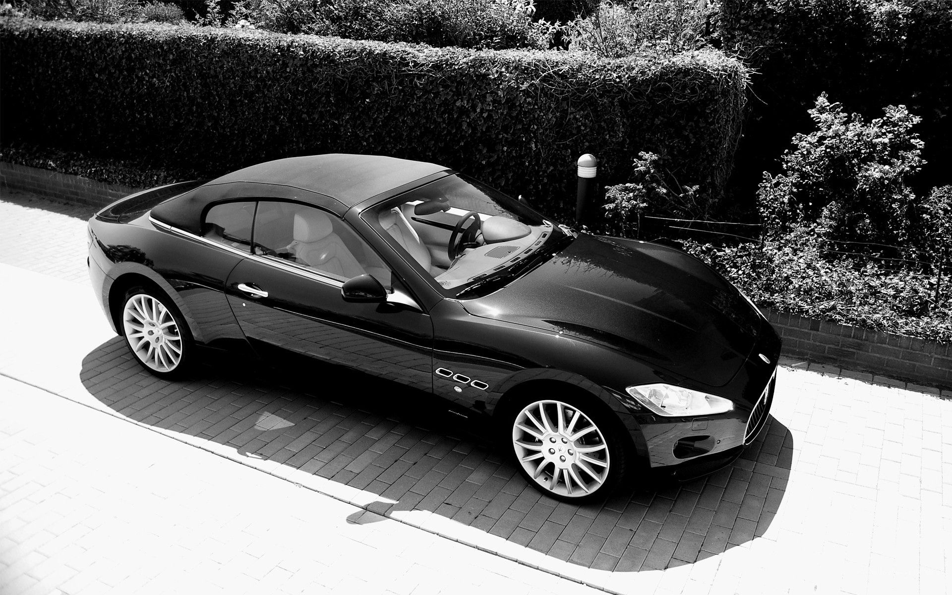 53939 download wallpaper Cars, Maserati, View From Above, Style screensavers and pictures for free
