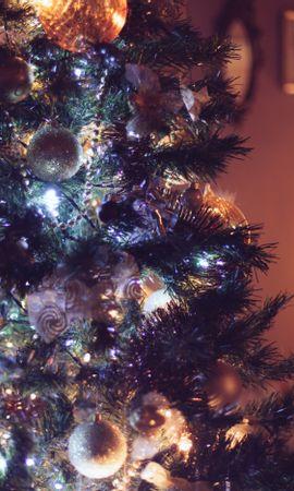 106488 descargar fondo de pantalla Vacaciones, Árbol De Navidad, Decoraciones, Navidad, Año Nuevo: protectores de pantalla e imágenes gratis