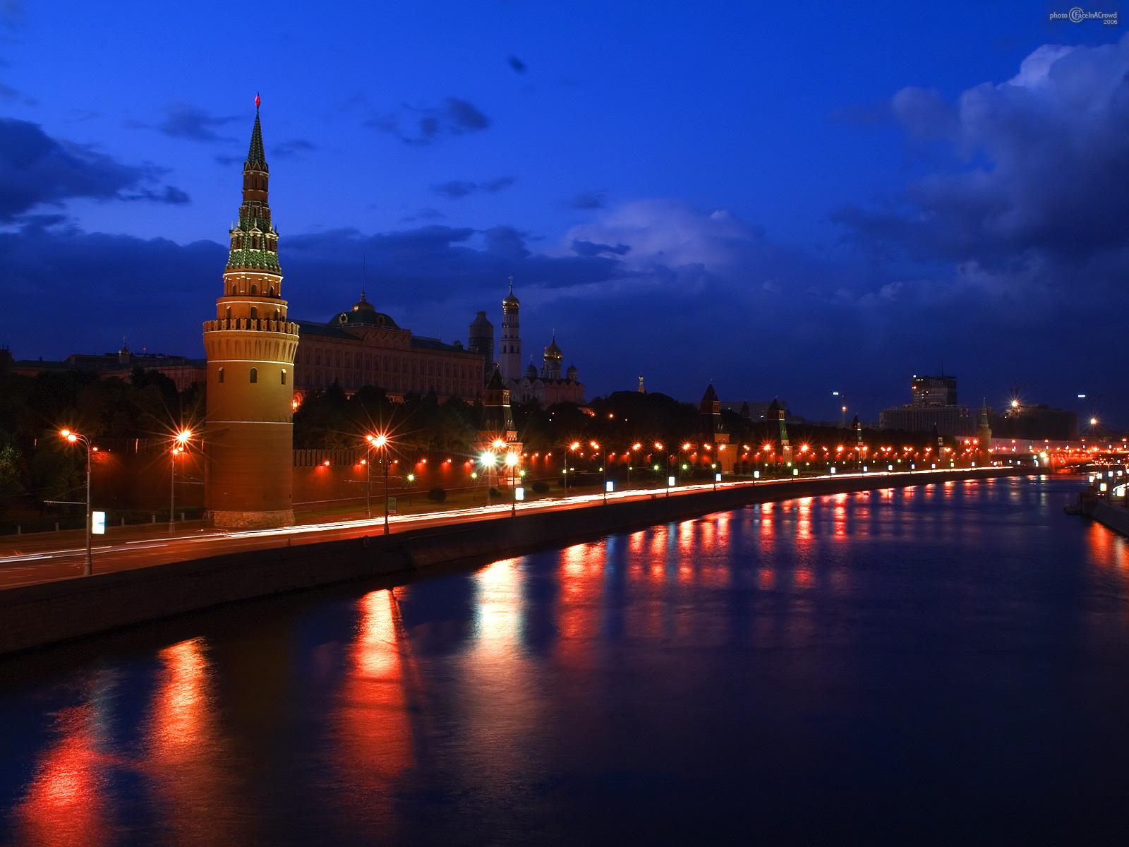 8333 скачать обои Пейзаж, Города, Река, Ночь, Москва - заставки и картинки бесплатно