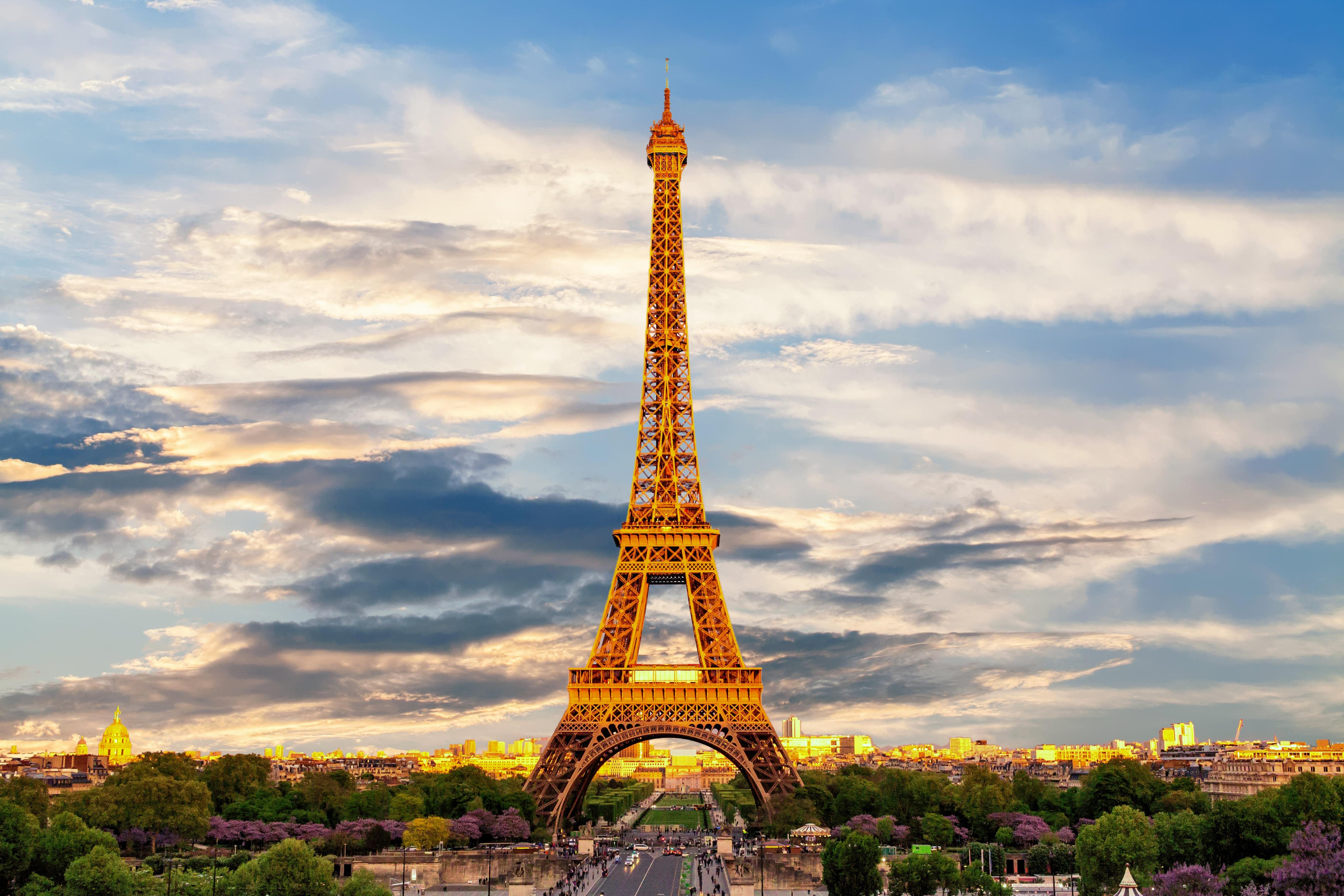 152302 télécharger le fond d'écran Paris, France, Vue, Repère, Villes, Tour Eiffel - économiseurs d'écran et images gratuitement