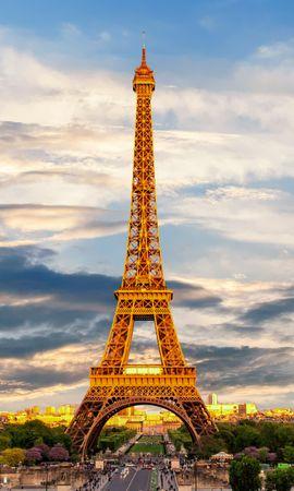 152302 baixar papel de parede Paris, França, Visão, Marco, Cidades, Torre Eiffel - protetores de tela e imagens gratuitamente