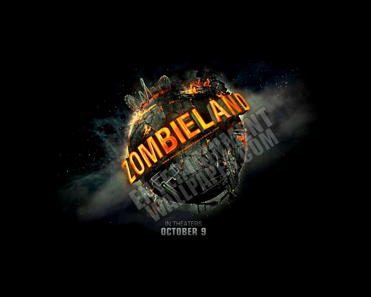 Download mobile wallpaper Zombieland, Cinema for free.