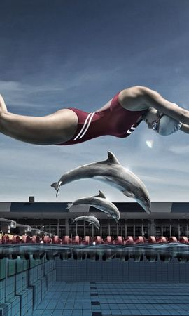 1839 download wallpaper Funny, Sports, People, Swimming screensavers and pictures for free