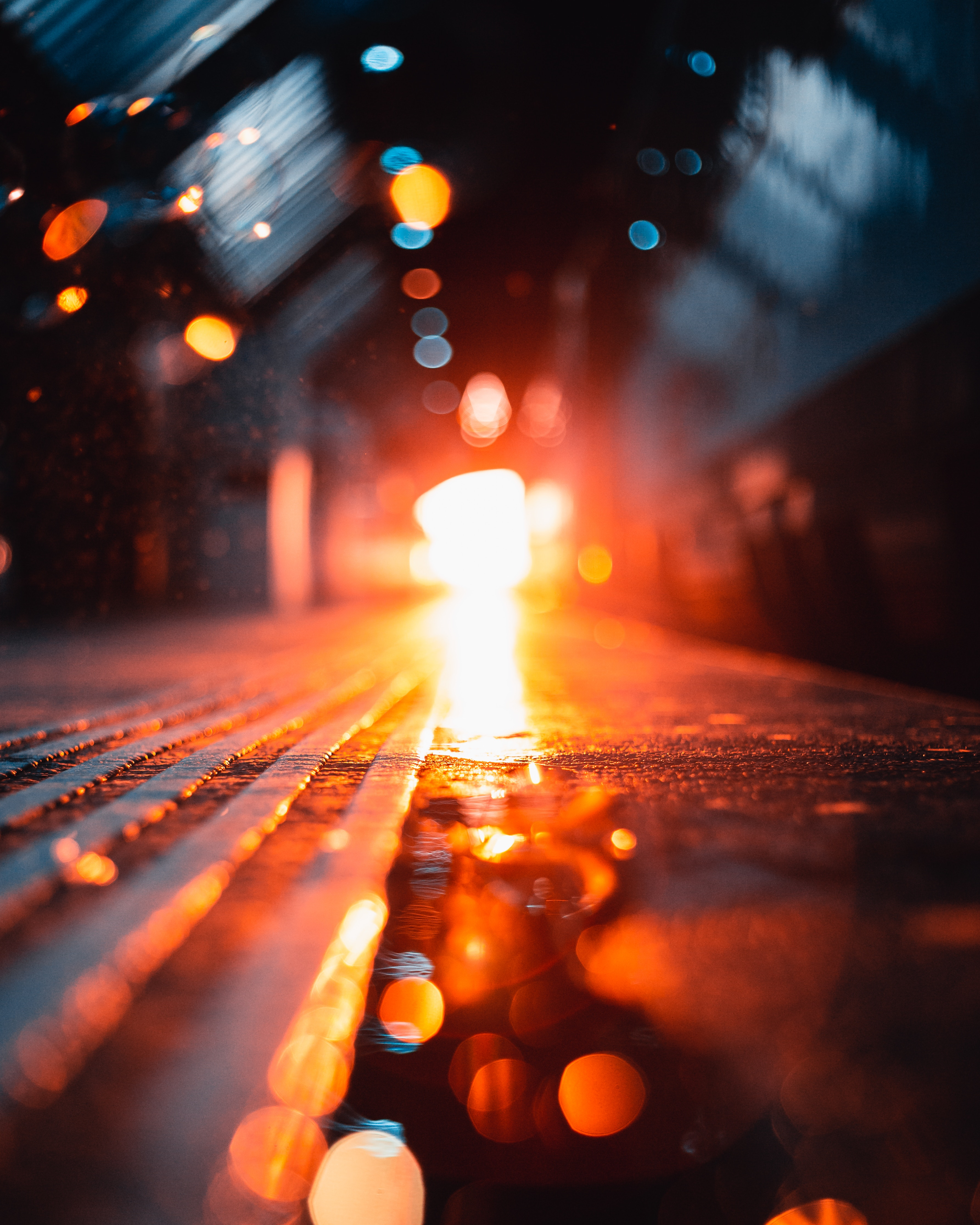 97995 Screensavers and Wallpapers Road for phone. Download Miscellaneous, Glare, Shine, Light, Bright, Miscellanea, Road, Bokeh, Boquet pictures for free