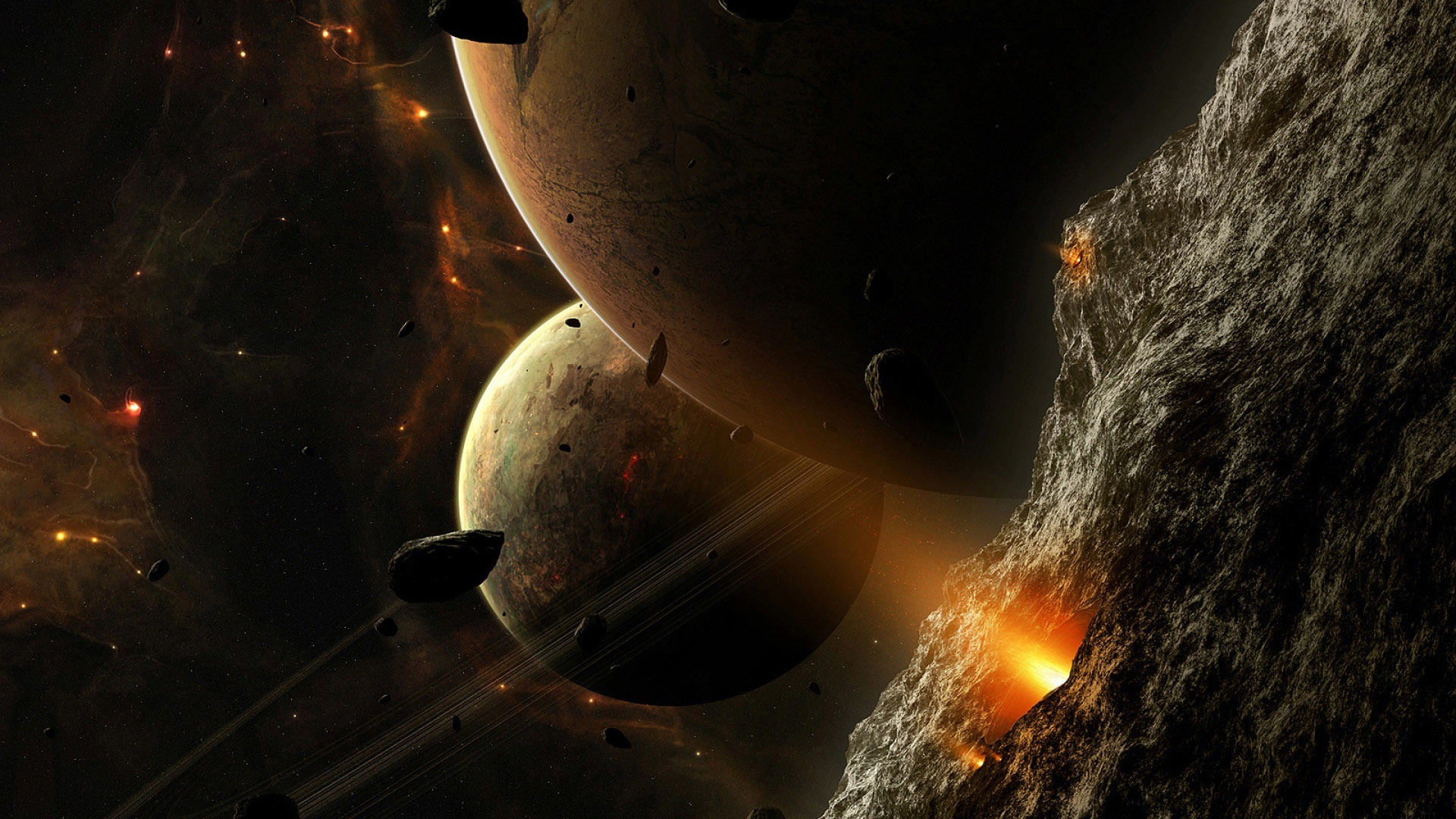42395 download wallpaper Fantasy, Planets screensavers and pictures for free