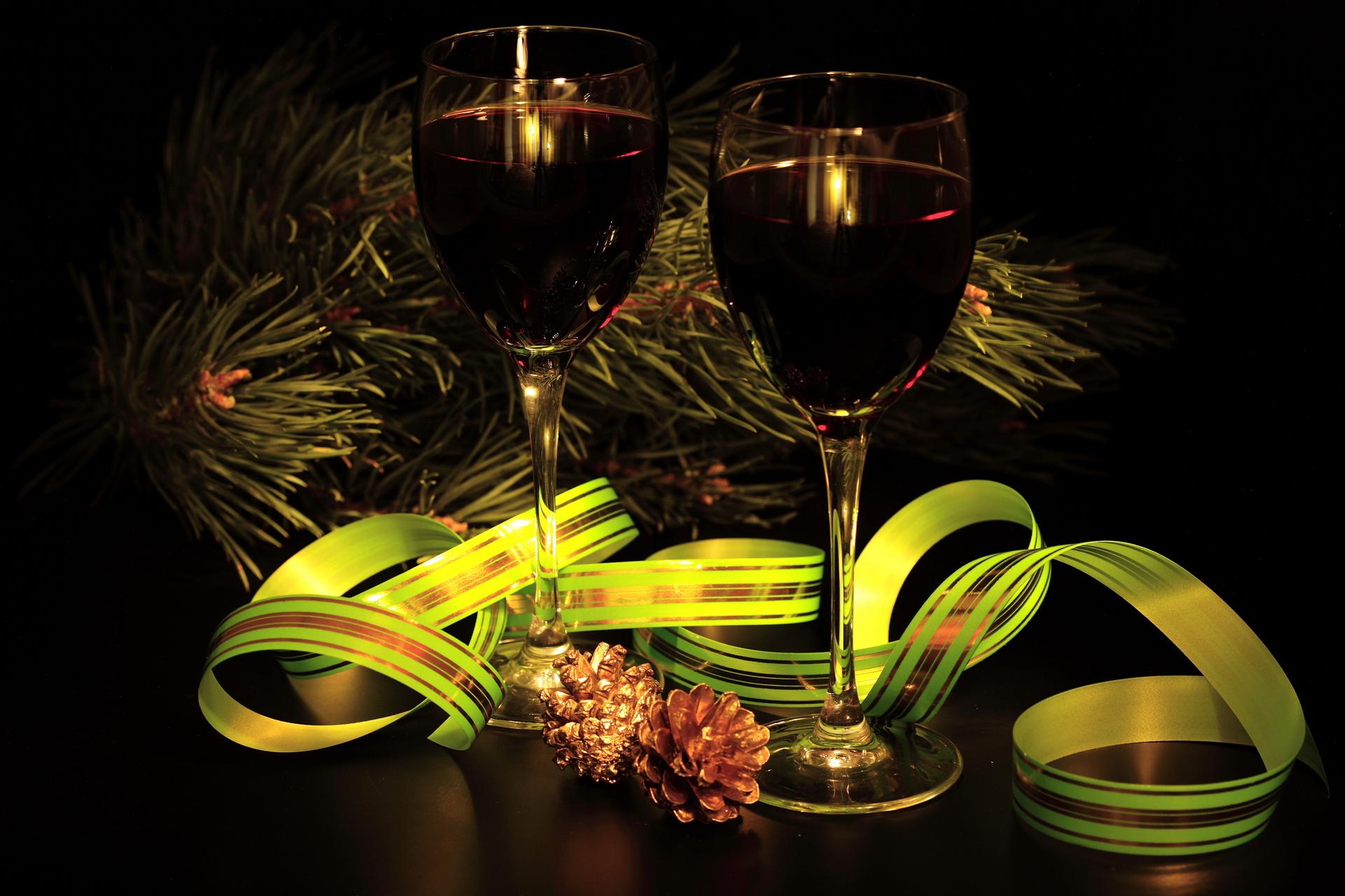 14011 скачать обои Праздники, Еда, Новый Год (New Year), Рождество (Christmas, Xmas), Вино, Напитки - заставки и картинки бесплатно