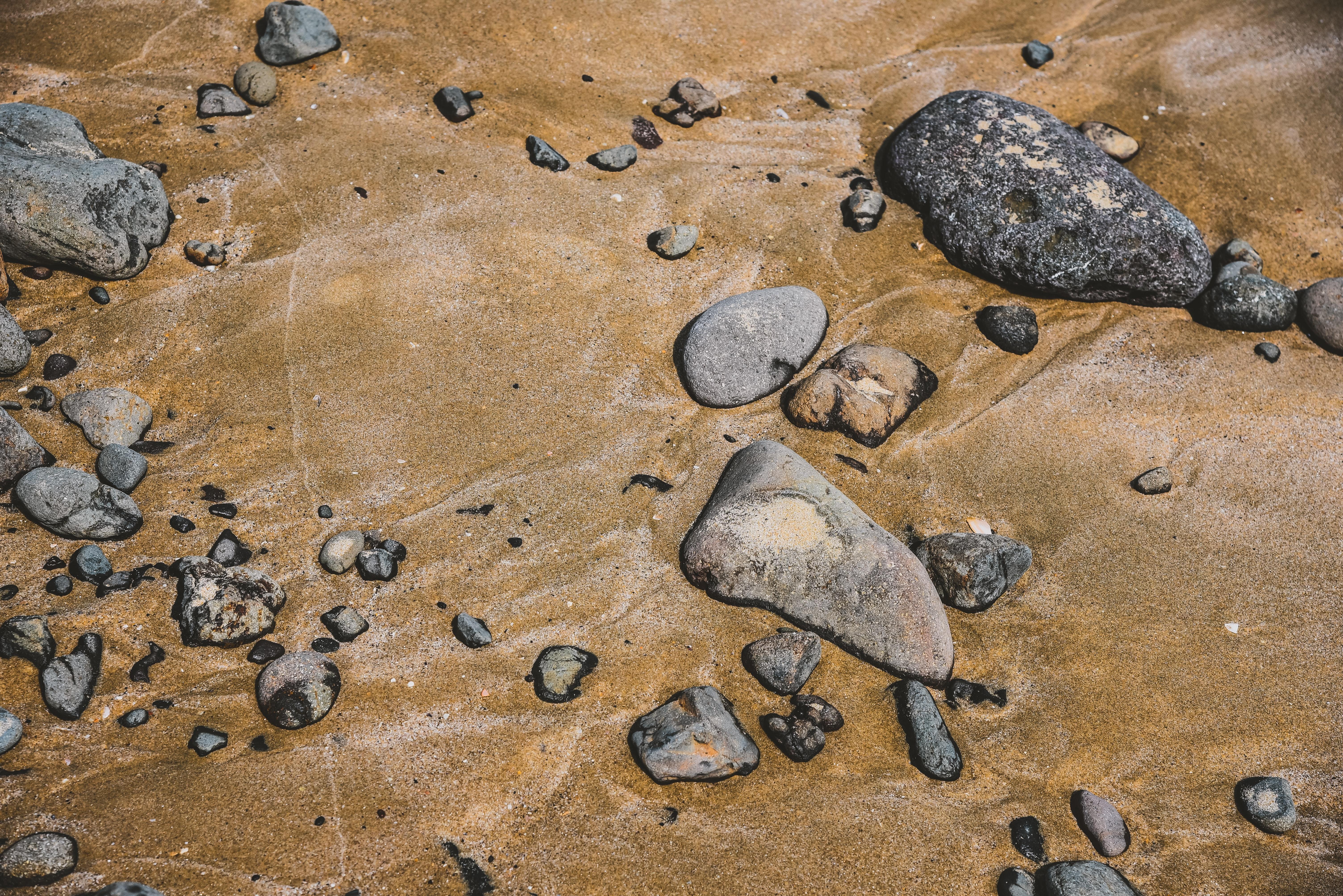 134632壁紙のダウンロード自然, ストーンズ, 小石, サンド, ビーチ-スクリーンセーバーと写真を無料で