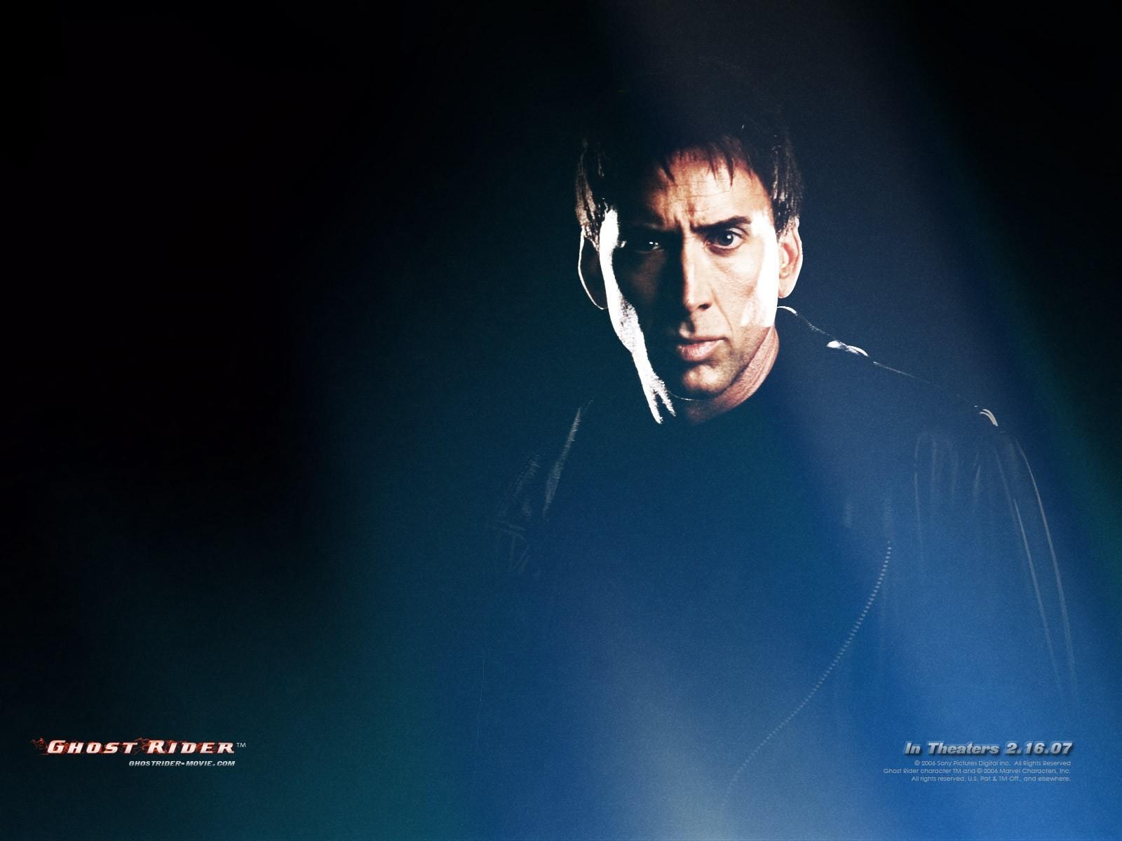 14990 скачать обои Кино, Люди, Актеры, Мужчины, Призрачный Гонщик (Ghost Rider), Николас Кейдж (Nicolas Cage) - заставки и картинки бесплатно