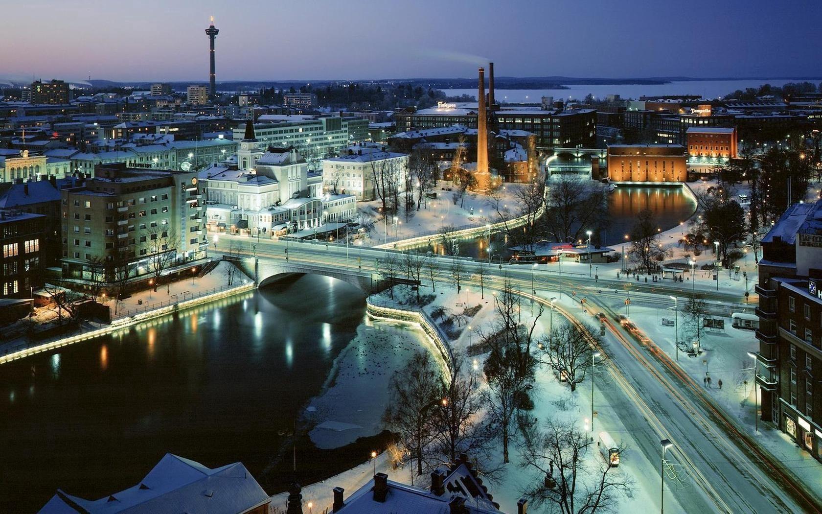 125716 скачать обои Москва, Город, Ночь, Зима, Города - заставки и картинки бесплатно