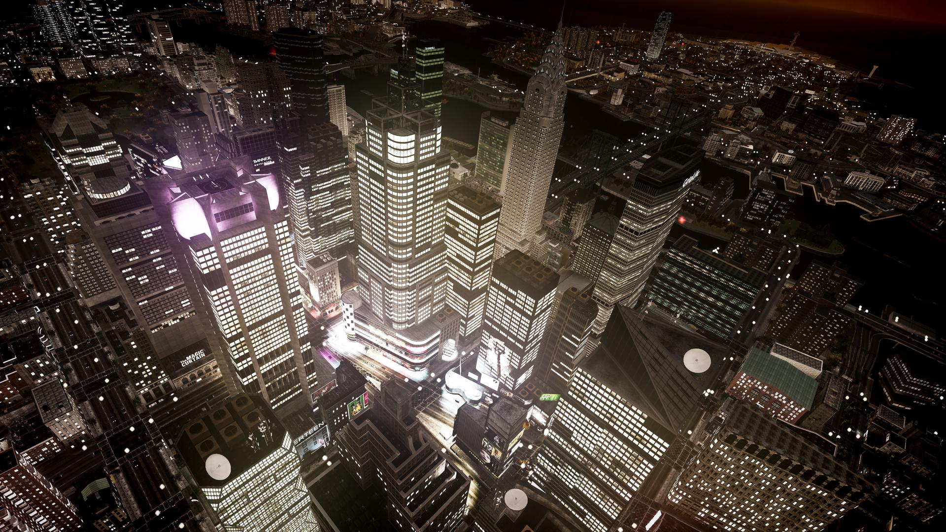 16665 скачать обои Пейзаж, Города, Ночь, Архитектура - заставки и картинки бесплатно