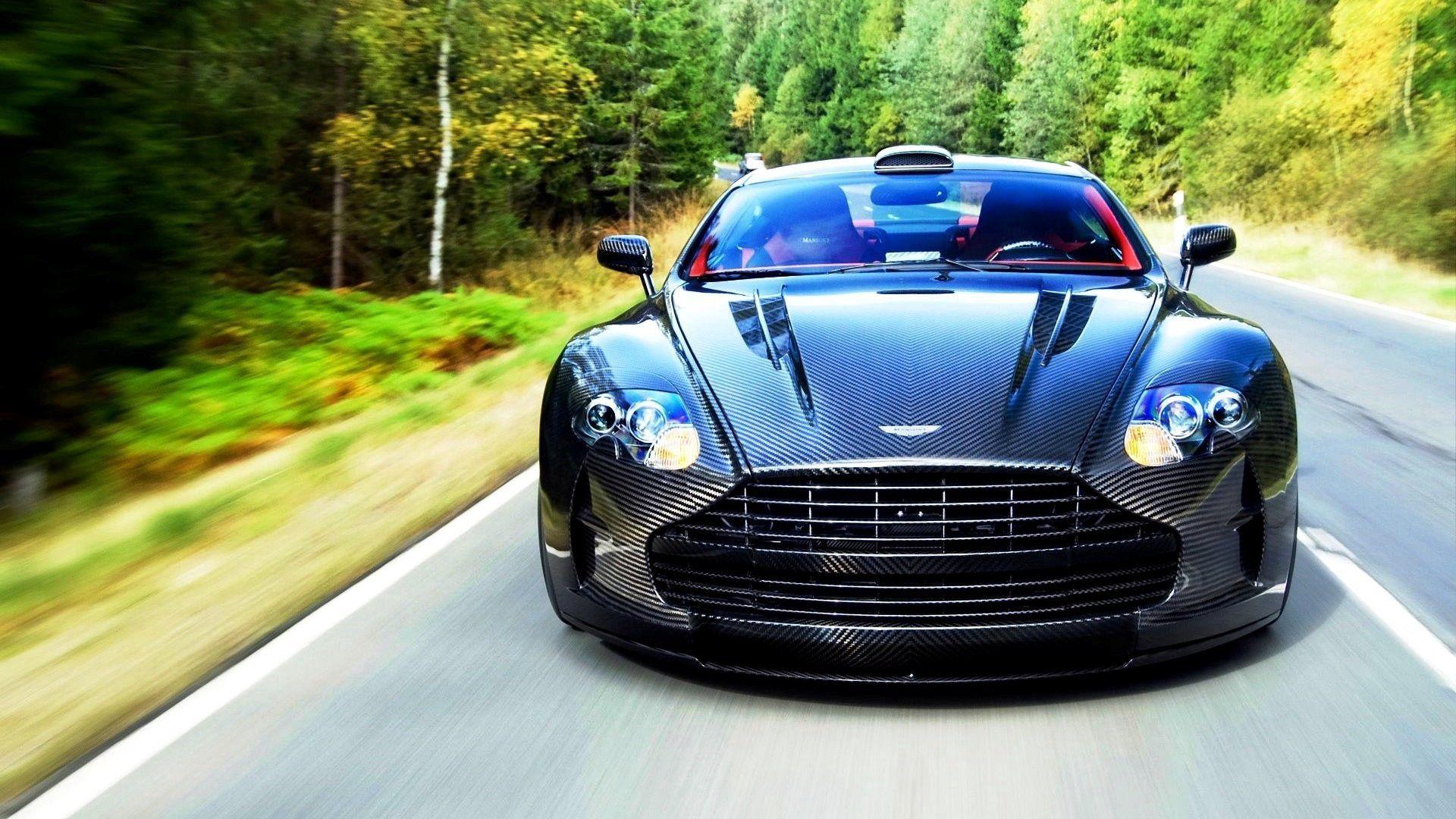 108871 скачать обои Астон Мартин (Aston Martin), Тачки (Cars), Движение, Вид Спереди, 2015, Vanquish - заставки и картинки бесплатно