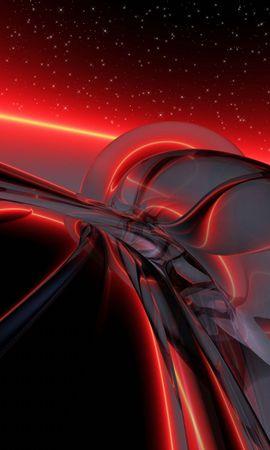 152753 скачать обои Абстракция, Свет, Яркий, Фон, Красный - заставки и картинки бесплатно
