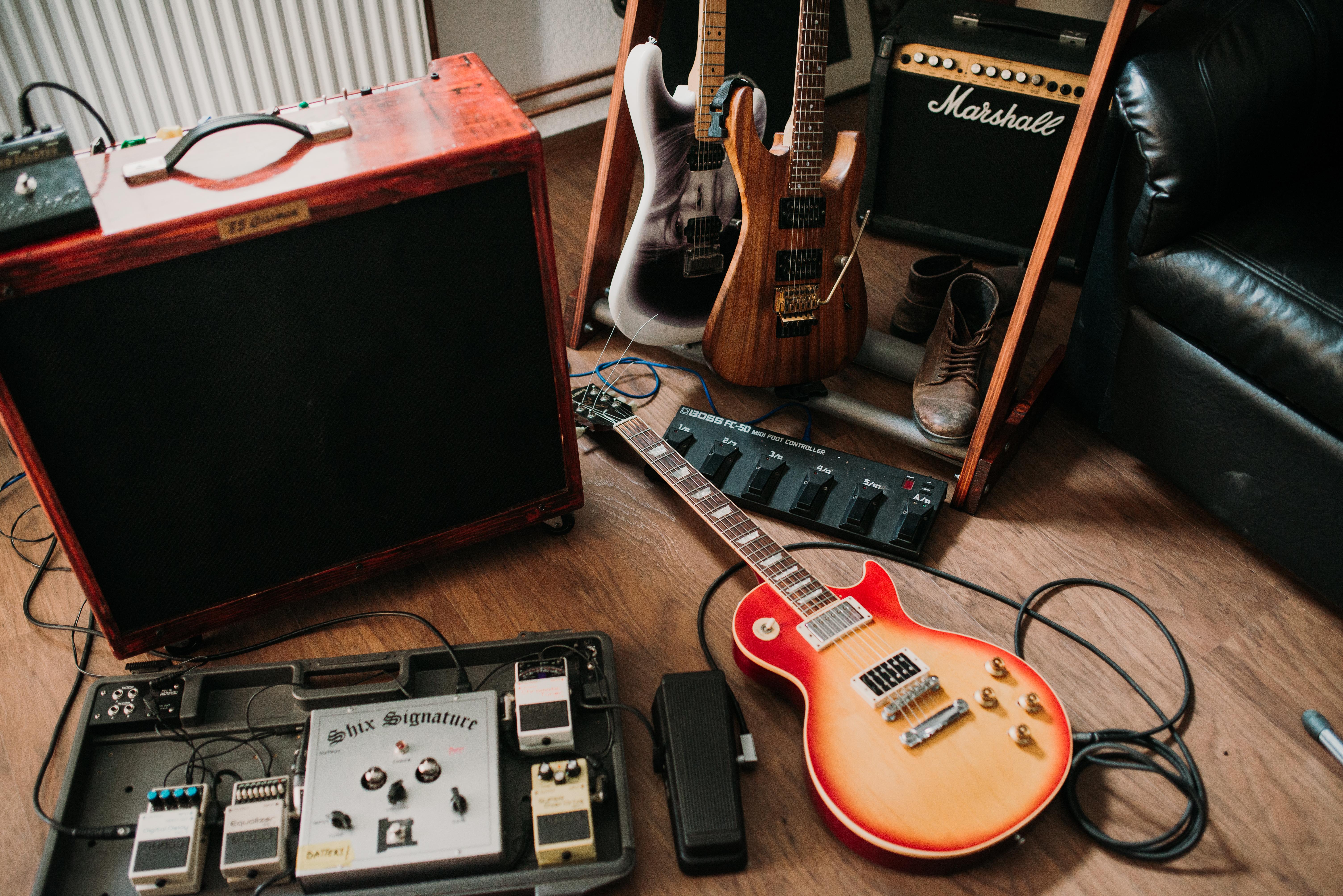 125261 Protetores de tela e papéis de parede Música em seu telefone. Baixe Música, Guitarras Elétricas, Guitarra, Instrumentos Musicais, Equipamento, Guitarras fotos gratuitamente