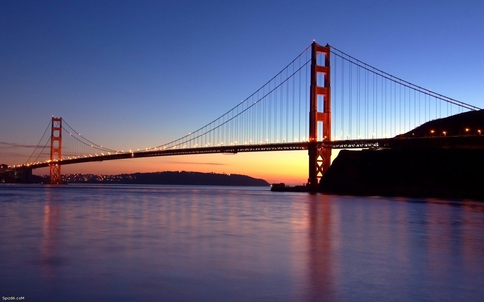 3287 скачать обои Пейзаж, Река, Мосты, Архитектура - заставки и картинки бесплатно