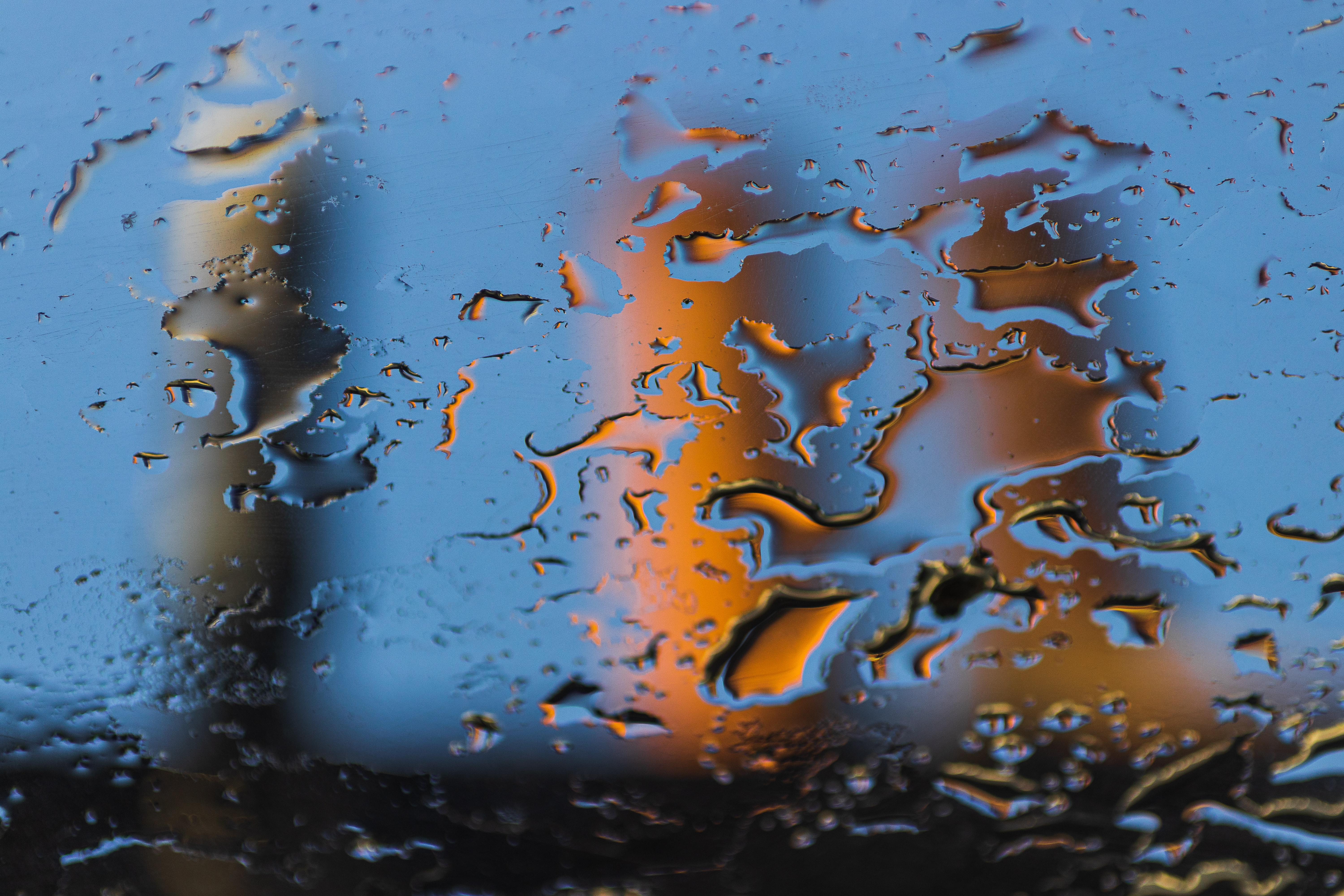 151237 download wallpaper Miscellanea, Miscellaneous, Drops, Water, Blur, Smooth, Glass, Wet screensavers and pictures for free