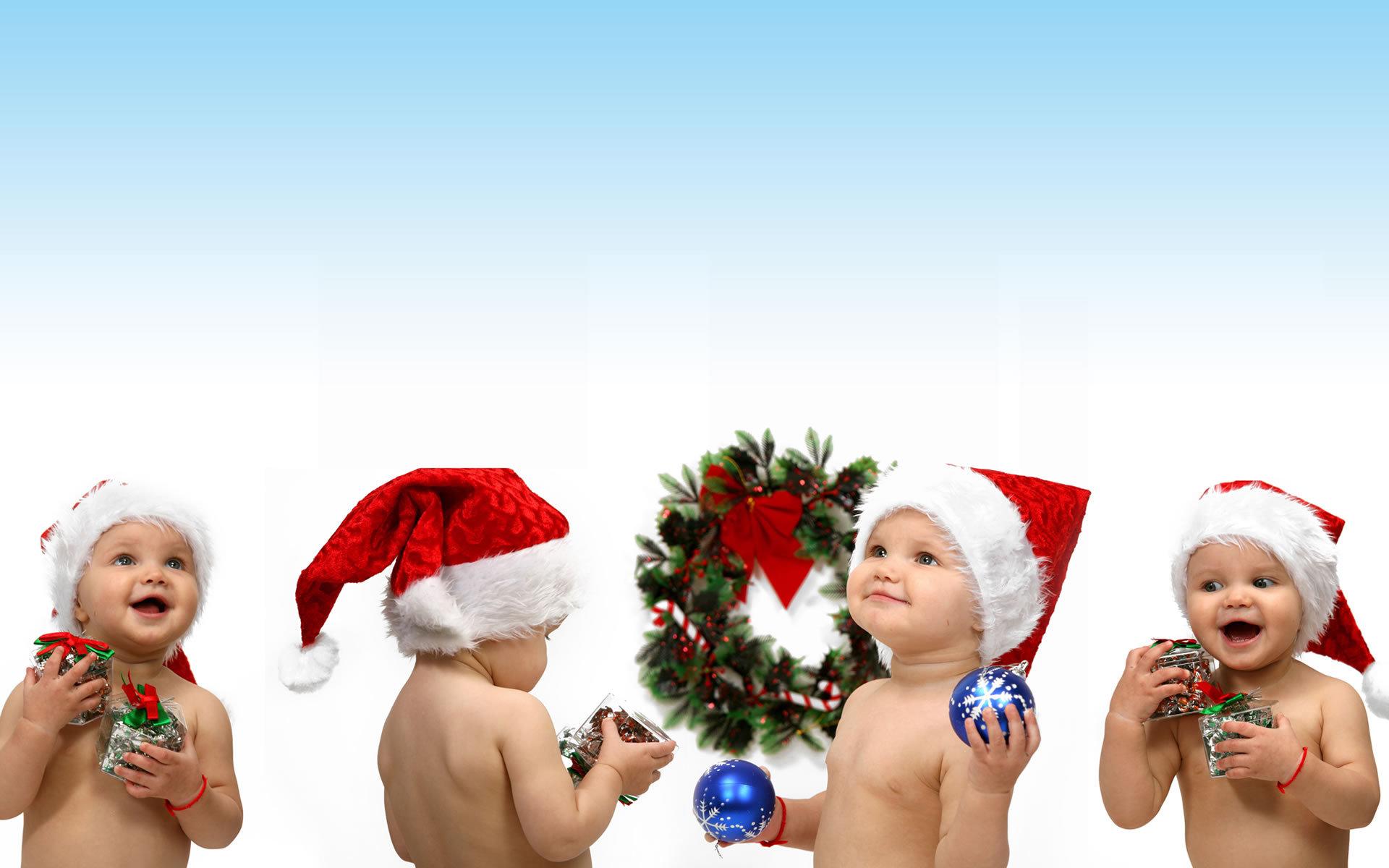 13525 скачать обои Праздники, Дети, Новый Год (New Year), Рождество (Christmas, Xmas) - заставки и картинки бесплатно