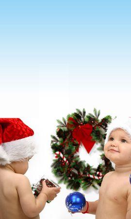 13525 descargar fondo de pantalla Vacaciones, Niños, Año Nuevo, Navidad: protectores de pantalla e imágenes gratis