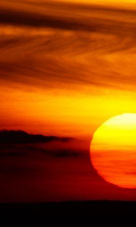 639 télécharger le fond d'écran Paysage, Coucher De Soleil, Sky, Sun - économiseurs d'écran et images gratuitement