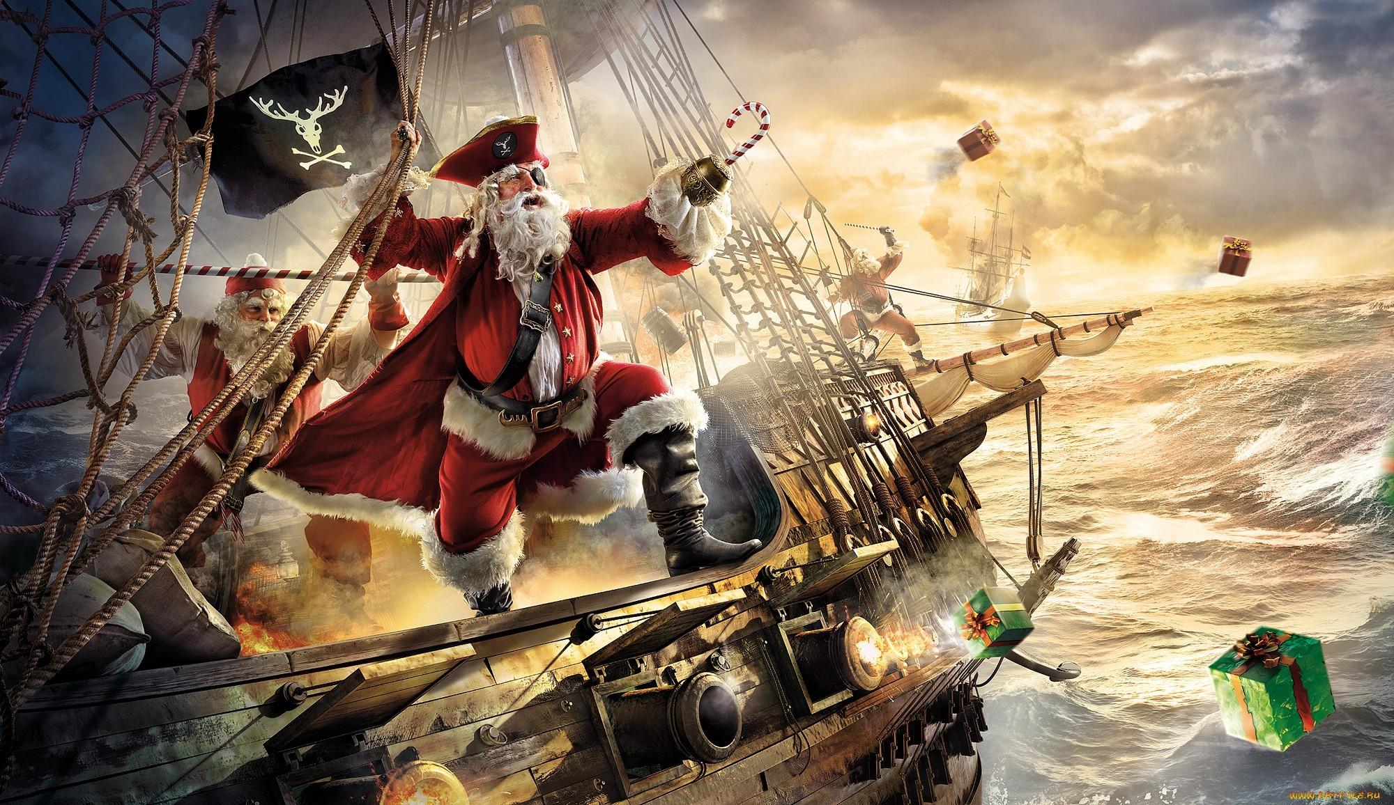 Лучшие заставки и фоны Санта Клаус (Santa Claus) на мобильный