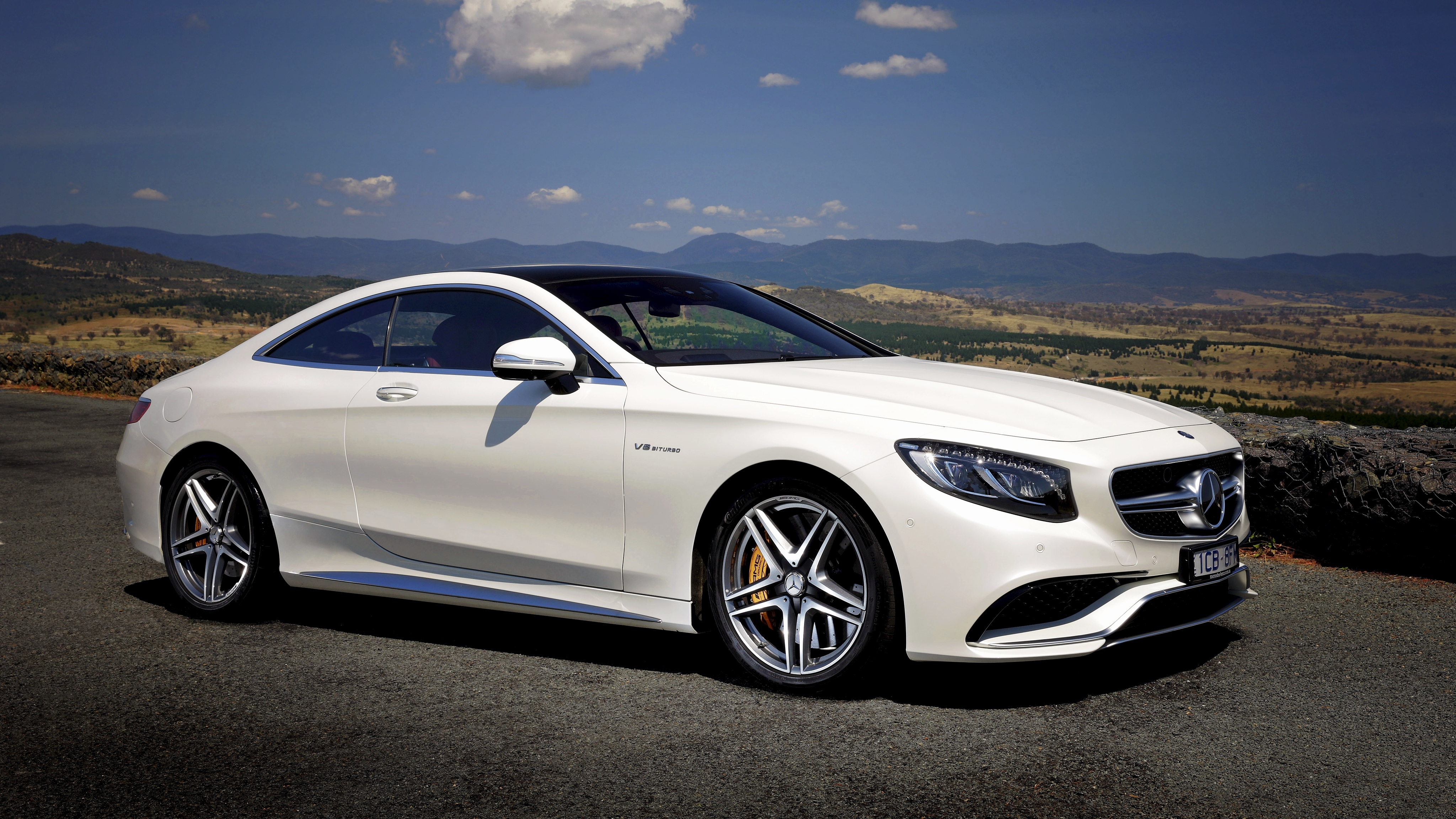 76688 download wallpaper Cars, Amg, Mercedes-Benz, Coupe, 2015, Au-Spec, S 63, C217 screensavers and pictures for free
