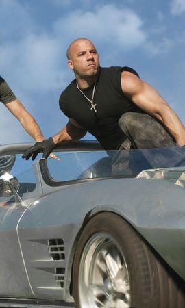 45854 télécharger le fond d'écran Cinéma, Personnes, Hommes, Vin Diesel, Fast And Furious - économiseurs d'écran et images gratuitement