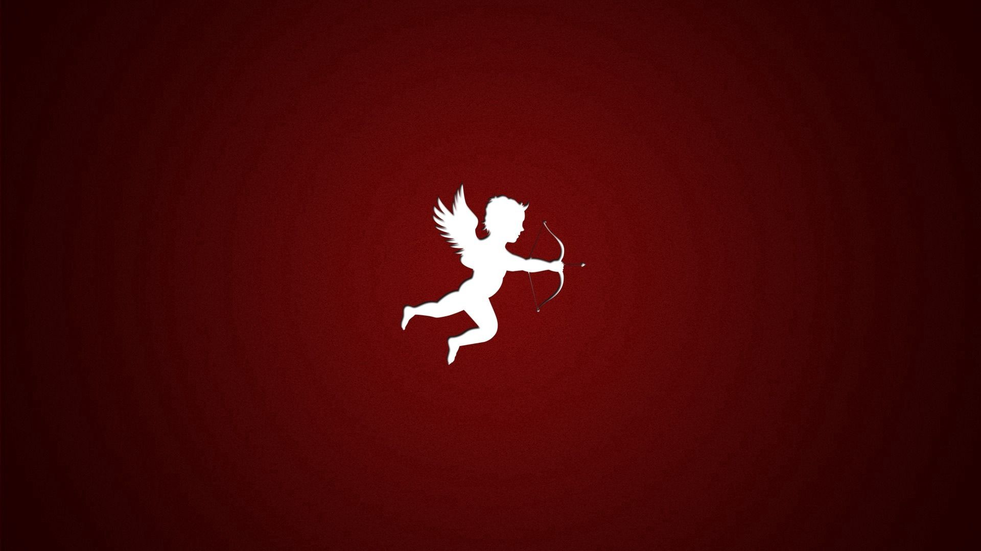 131852 Hintergrundbild herunterladen Engel, Liebe, Minimalismus, Bild, Zeichnung - Bildschirmschoner und Bilder kostenlos