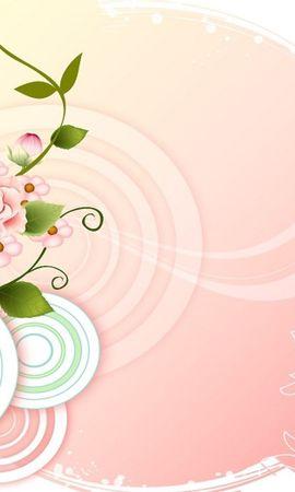 9911 скачать обои Растения, Цветы, Рисунки - заставки и картинки бесплатно
