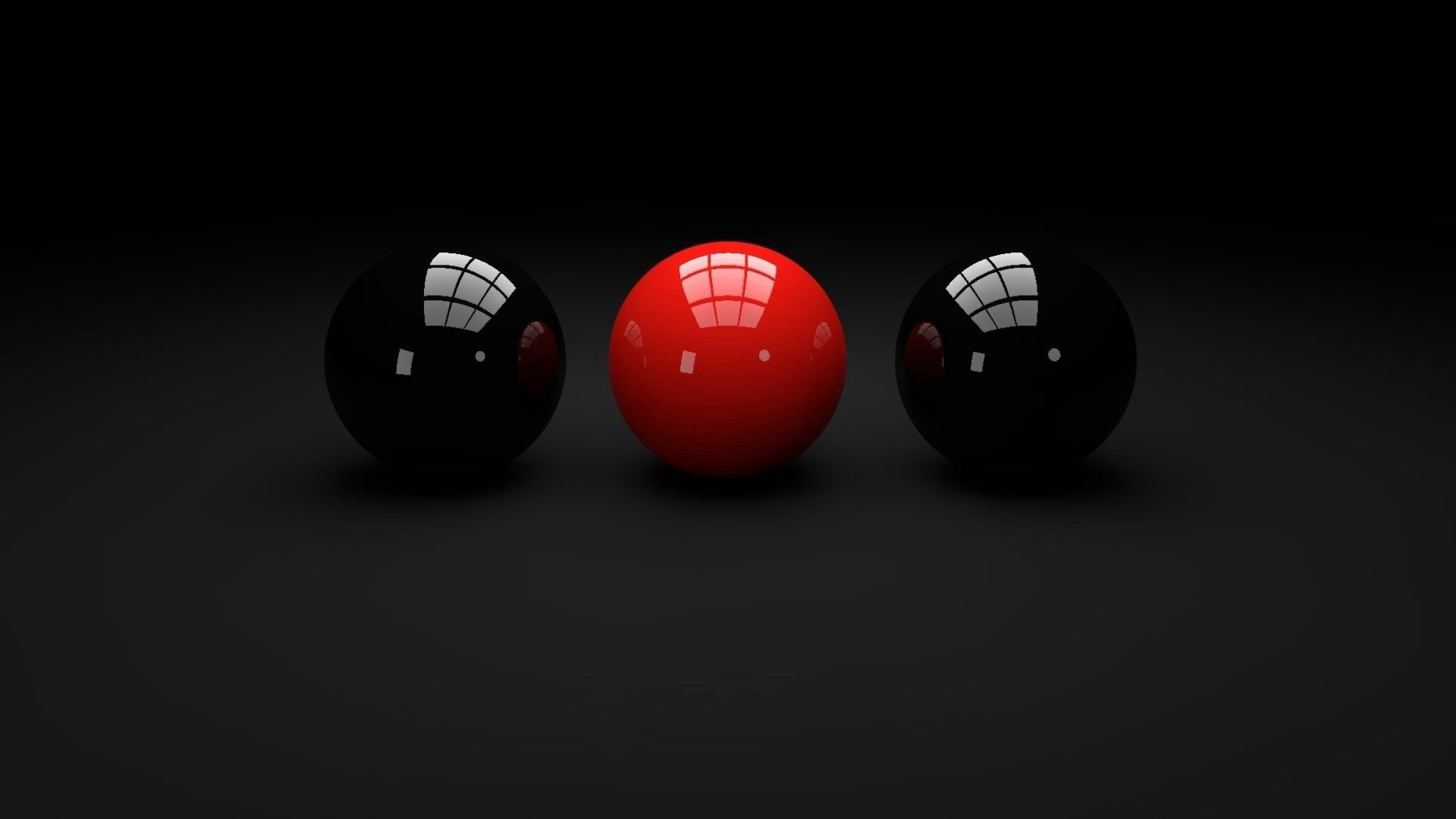 76218 download wallpaper Reflection, 3D, Glass, Balls screensavers and pictures for free