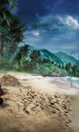 17413 скачать обои Игры, Far Cry 2, Рисунки - заставки и картинки бесплатно