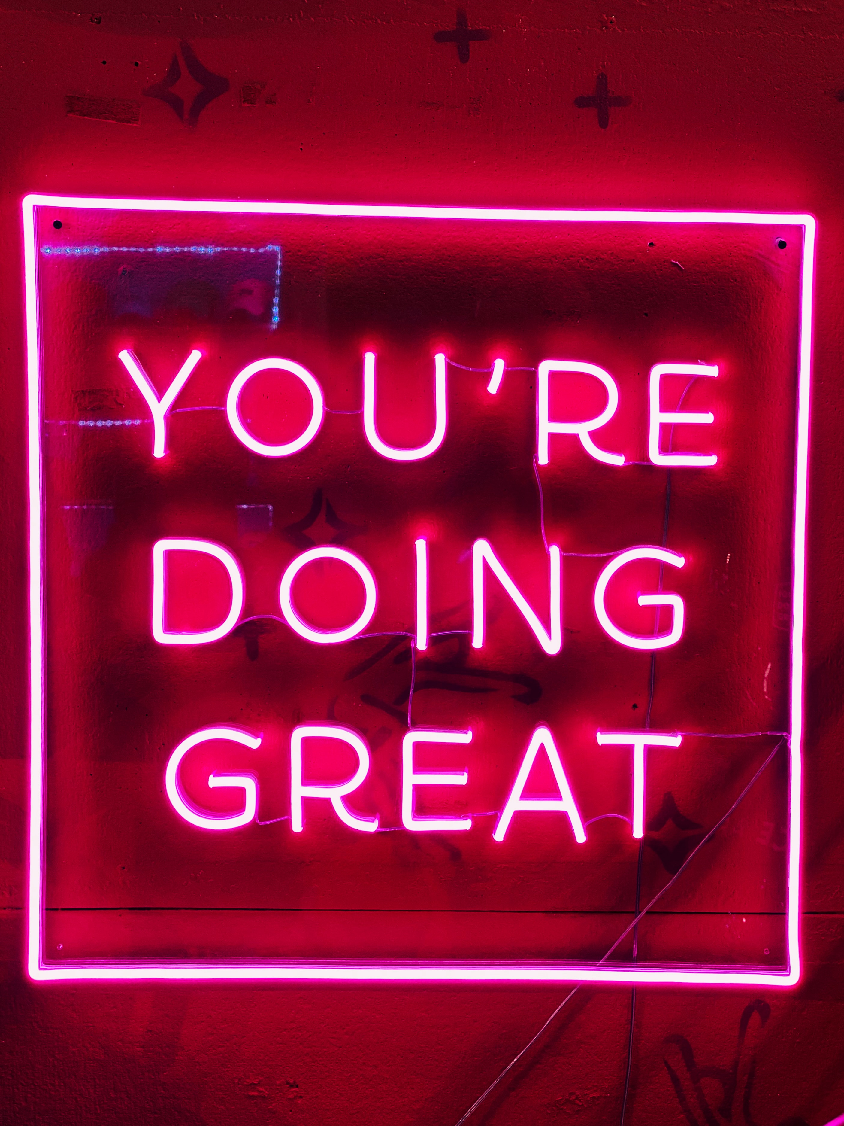 144433 download wallpaper Words, Motivation, Text, Neon, Glow screensavers and pictures for free