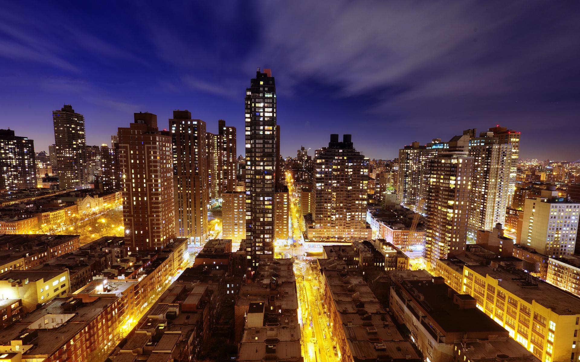29419 скачать обои Пейзаж, Города, Ночь, Архитектура - заставки и картинки бесплатно