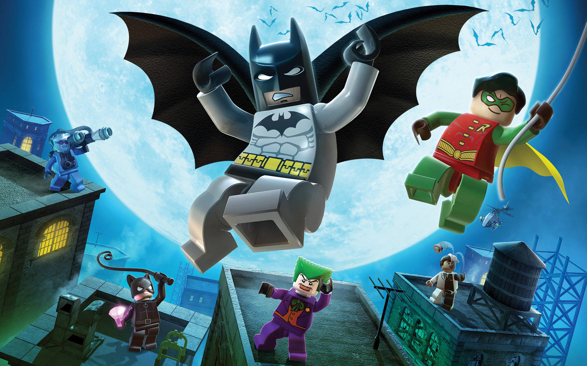 17543 download wallpaper Cartoon, Background, Batman screensavers and pictures for free